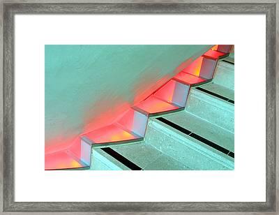 Steppin Up Framed Print by Jez C Self