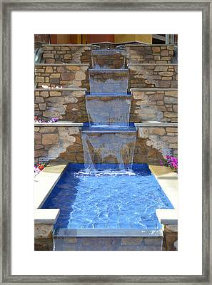 Stepping Down Framed Print by Glenn McCarthy Art and Photography