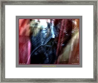 Stepping Forward Framed Print by Jane Tripp