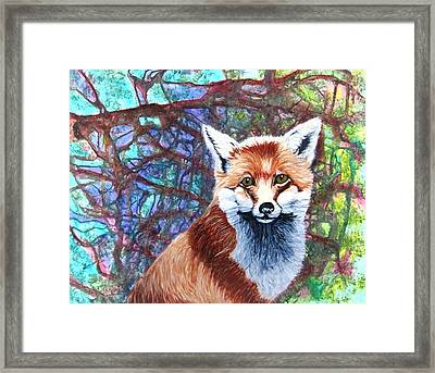 Stepping Out Framed Print by David Raderstorf