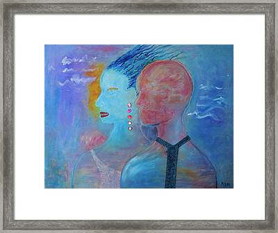 Stepping Out Framed Print by Marla McPherson