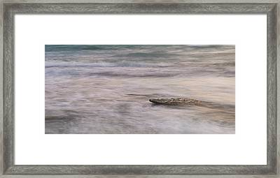 Framed Print featuring the photograph Stepping Stone by Alex Lapidus