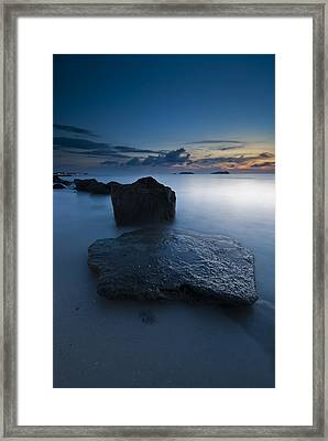Stepping Stones Framed Print