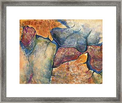 Stepping Stones No.7 Framed Print