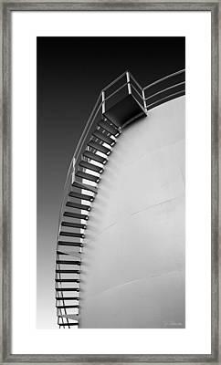 Framed Print featuring the photograph Stepping Up by Joe Bonita