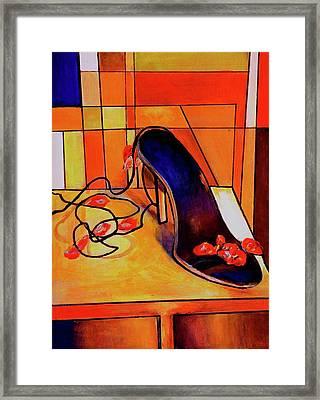 Stepping Up Framed Print