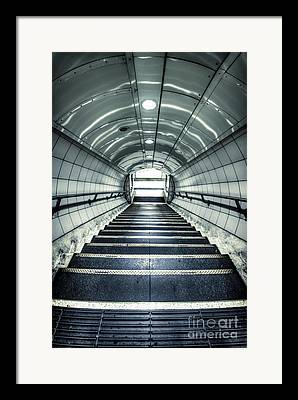 Flight Of Stairs Framed Prints