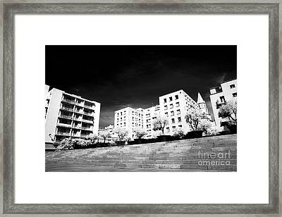 Steps In Marseille Framed Print by John Rizzuto