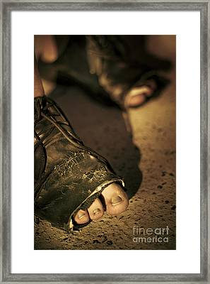 Steps Of A Dividing Class Framed Print by Jorgo Photography - Wall Art Gallery