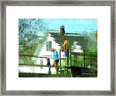 Steps Framed Print by Sybil Staples