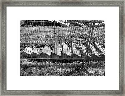 Steps To Nowhere Framed Print by Reb Frost