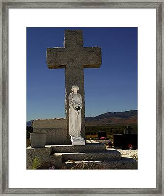 Steps To Salvation Framed Print