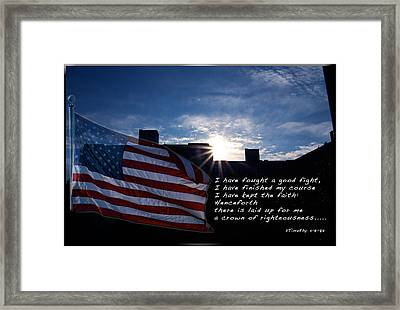 Steps Toward Heaven Framed Print by Terry Wallace
