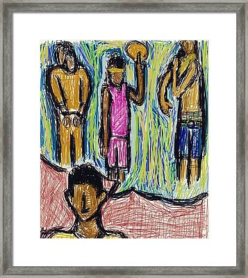 Stereotypes Of A Black Male Framed Print by Picard Losier