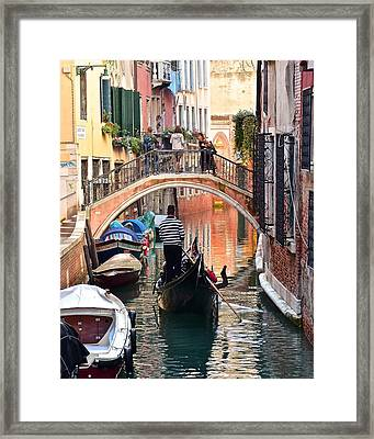 Stereotypical Venice Photo Framed Print