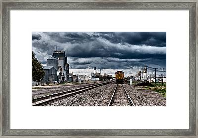Sterling Colorado Storms Framed Print by Darren  White