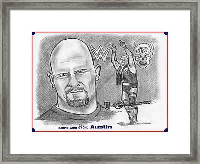 Steve Austin Framed Print