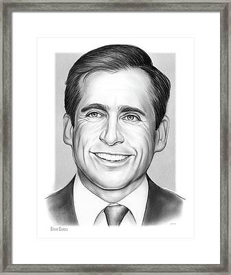 Steve Carell Framed Print