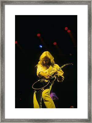 Steve Clark Framed Print