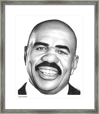 Steve Harvey Framed Print