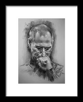 Steve Jobs Framed Prints