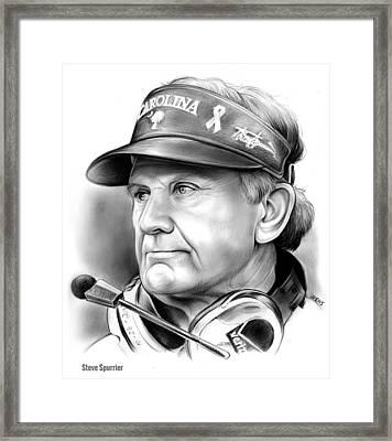 Steve Spurrier Framed Print