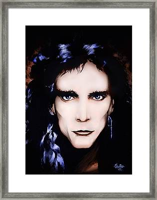 Steve Vai Framed Print by Curtiss Shaffer