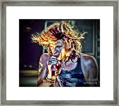 Steven Sings Framed Print