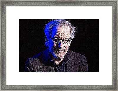 Steven Spielberg Framed Print by Iguanna Espinosa