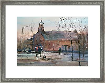 Steven's Point Church Framed Print