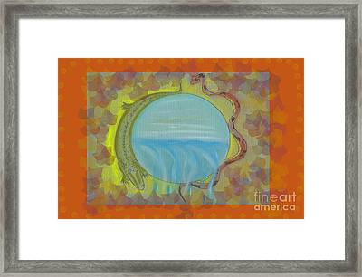 Steveo Framed Print by Cheri Doyle