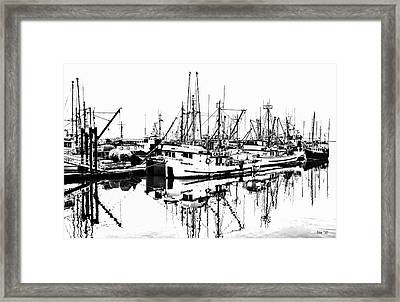 Steveston Harbor Framed Print