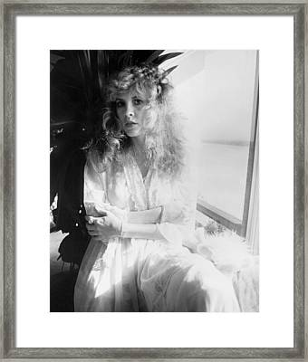 Stevie Nicks 1981 No.2 Framed Print by Chris Walter