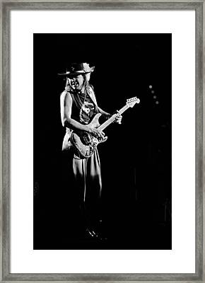 Stevie Ray Vaughan 1987 Framed Print