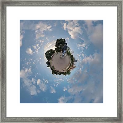 Stevie Ray Vaughan 20th Framed Print