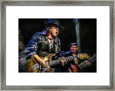Stevie Ray Vaughan - Couldn't Stand The Weather Framed Print