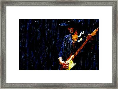 Stevie Ray Vaughan Signed Prints Available At Laartwork.com Coupon Code Kodak Framed Print