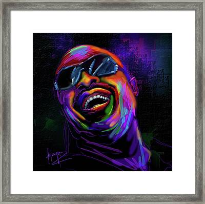 Stevie Wonder Framed Print