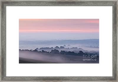 Steyning Bowl Dawn Framed Print