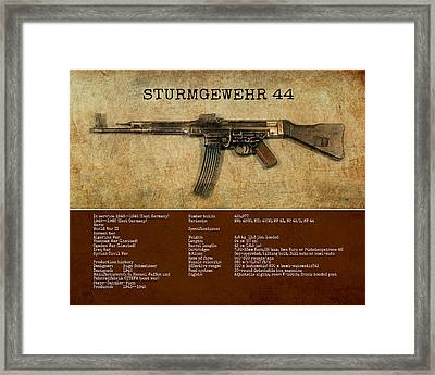 Stg 44 Sturmgewehr 44 Framed Print by John Wills