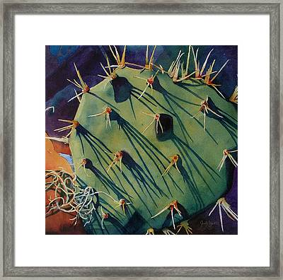 Sticker Shock Framed Print
