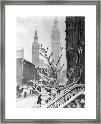 Stieglitz: New York, C1914 Framed Print