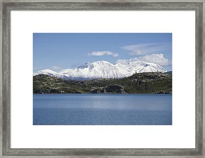 Stikine Mountains 7 Framed Print