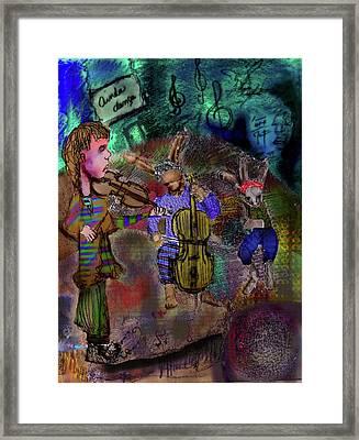 Stil  Dance Framed Print by Cynthia Richards