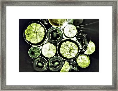 Stil Life With Fruits Framed Print