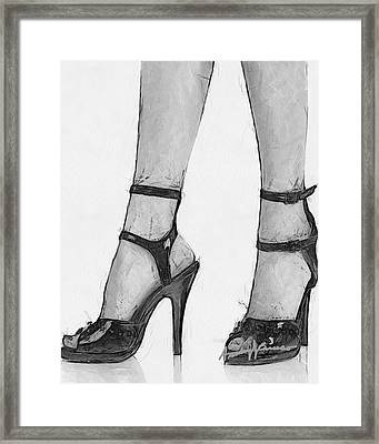 Stiletto Framed Print by Anthony Caruso