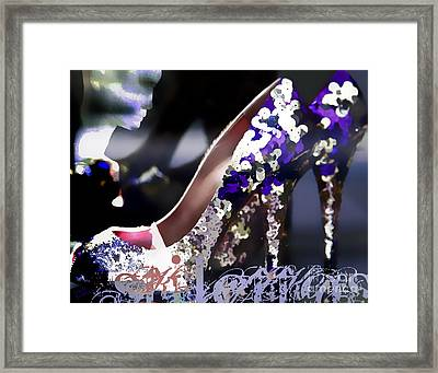 Stiletto Framed Print