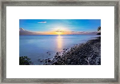Stiletto Shore Framed Print