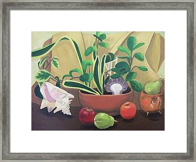 Still Alive Framed Print by Suzanne  Marie Leclair