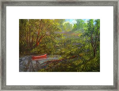 Still And Peaceful Framed Print